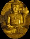 Buddha verweist auf ein Angebot im Bereich Meditation